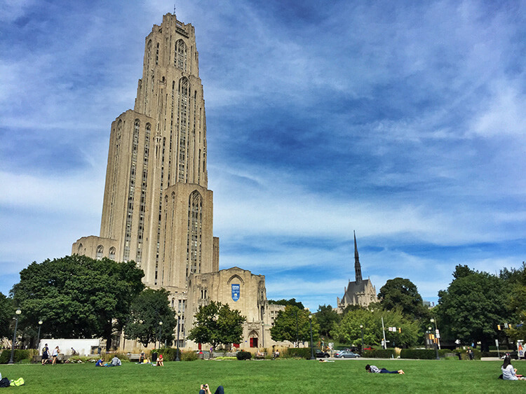 Pitt's Cathedral of Learning Pittsburgh