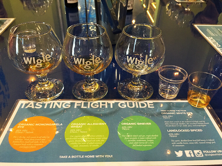Wigle Whiskey Pittsburgh
