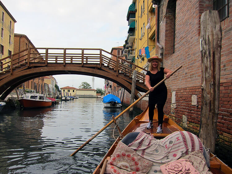 Gondola lessons with Row Venice