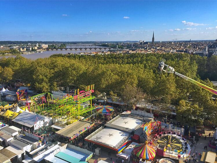 Foire aux Plaisirs Bordeaux, France