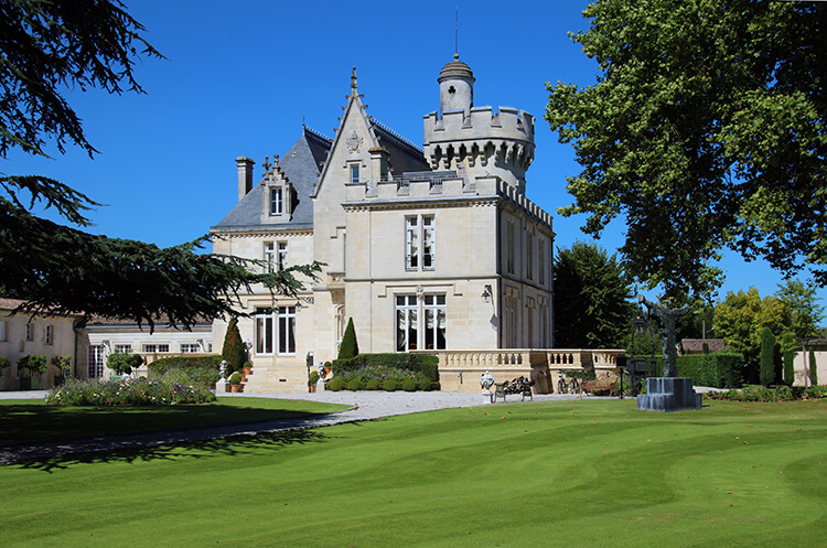 Chateau Pape Clement Bordeaux, France