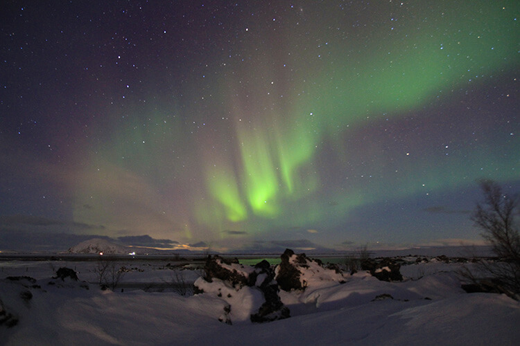 ... Aurora Hunting Trip. Northern Lights Myvatn, Iceland