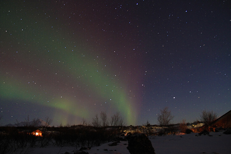 Northern Lights Myvatn, Iceland