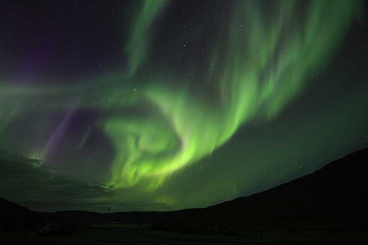 Northern Lights Westfjords, Iceland