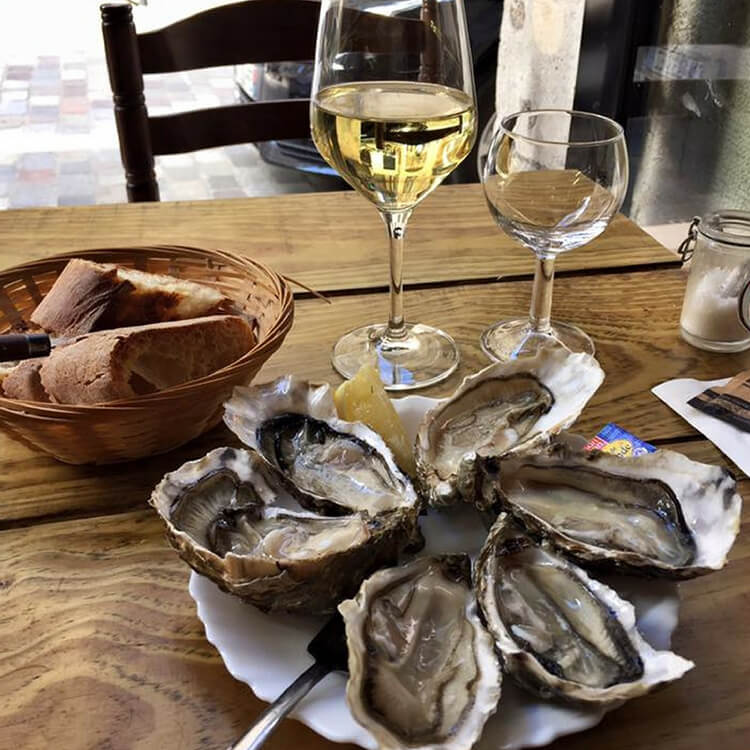 Cap Ferret oysters