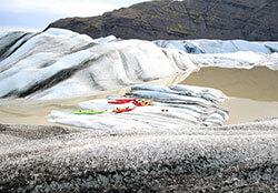 Heinabergslón Glacier Lagoon, Iceland