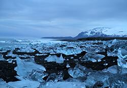 Breiðamerkursandur Iceberg Beach, Iceland