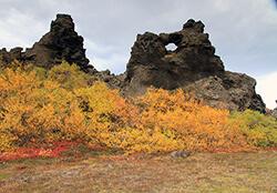 Dimmuborgir, Lake Myvatn, Iceland