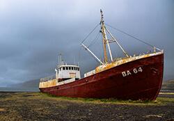 Gardar B64 Ship, Iceland