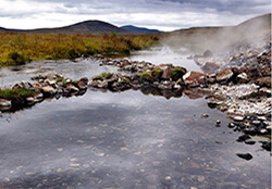 Landbrotalaug, Snaefellsness Peninsula, Iceland