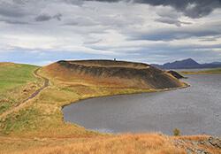 Skútustaðagígar Pseudo Craters, Myvatn, Iceland