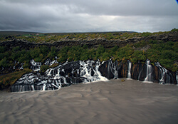 Hraunfossar, Snaefellsnes Peninsula, Iceland