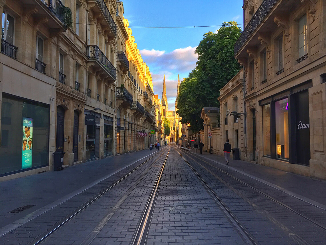 Rue Vital Carles, Bordeaux, France