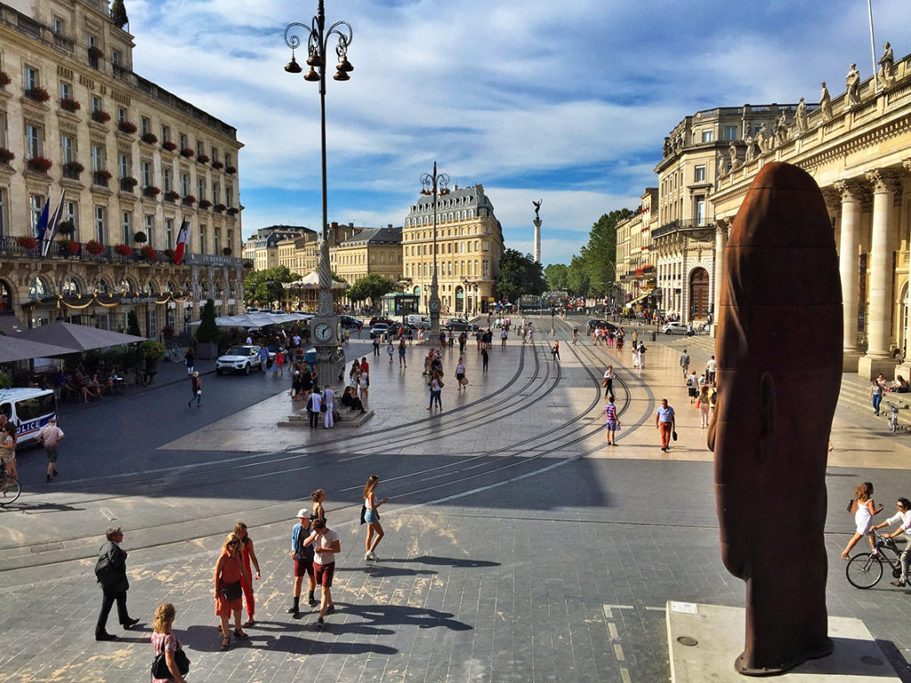Place de la Comedie, Bordeaux, France
