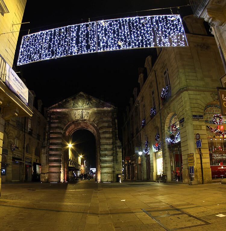 Bordeaux at Christmas