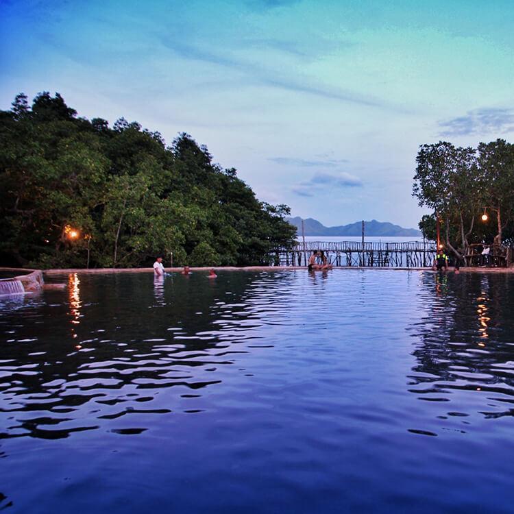 Maquinit Springs, Coron, Philippines