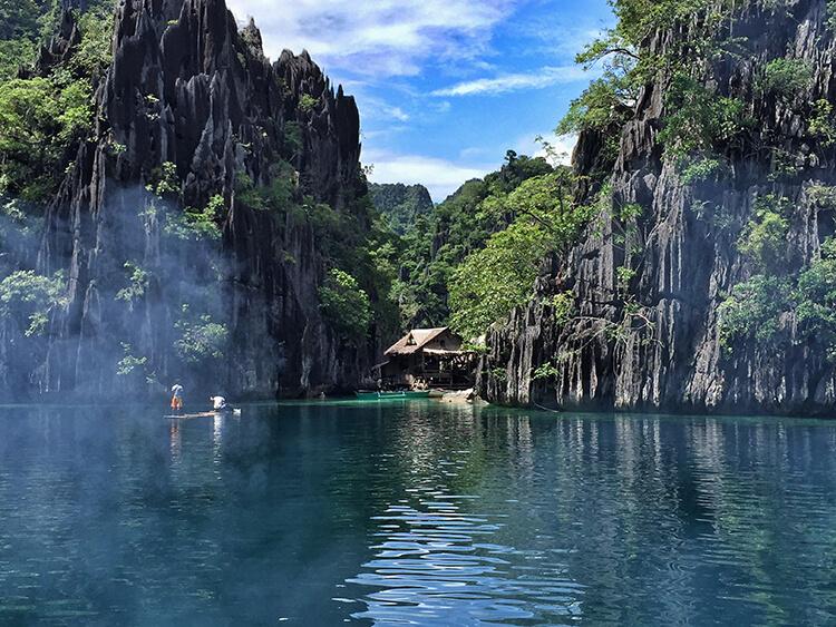 Twin Lagoon, Coron, Philippines