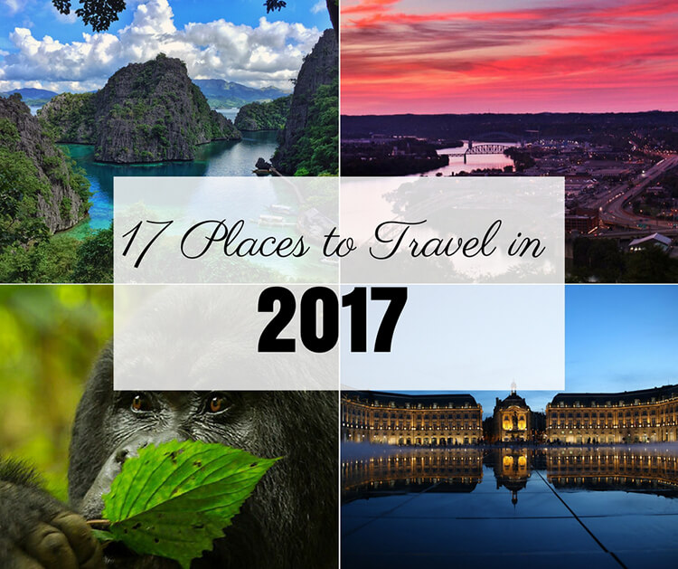 Places to Travel in 2017