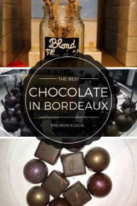 Best Chocolate Shops in Bordeaux, France Pinterest Pin