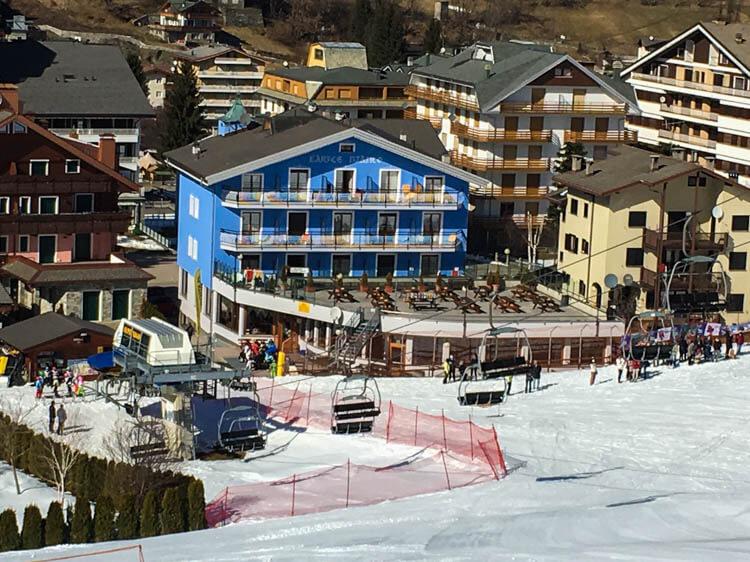Hotel Larice Bianco Aprica Skiing