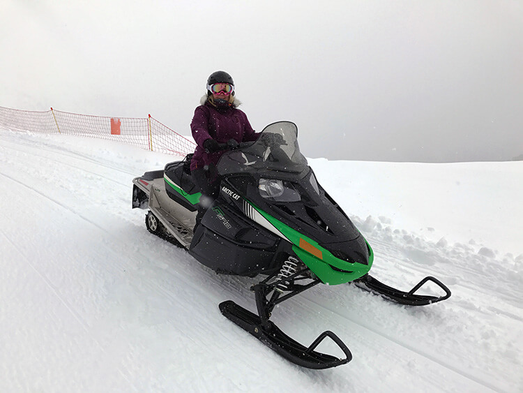 Snowmobiling Vallnord Andorra