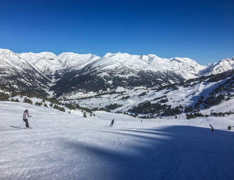 Grandvalira Skiing Andorra