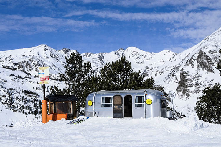 Vallnord Airstream Experience