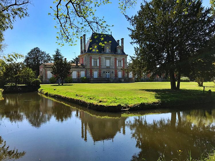 Chateau Saint Ahon, Medoc, Bordeaux, France