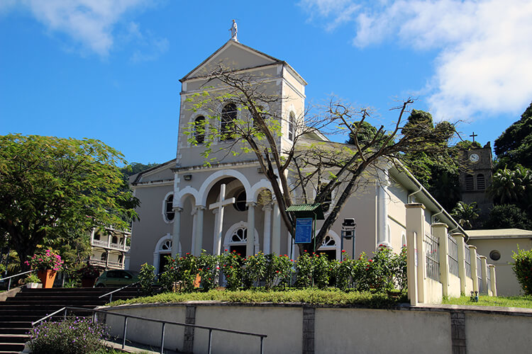Immaculate Conception Cathedral, Victoria, Mahé, Seychelles