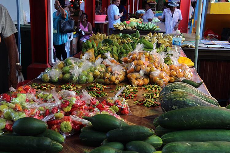 Victoria Market, Mahé, Seychelles