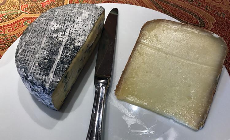 Cheese piaring at Chateau Kirwan Bordeaux