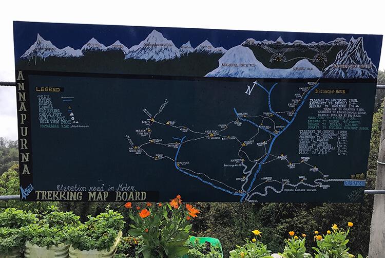 Ghorepani Trek, Annapurna, Nepal