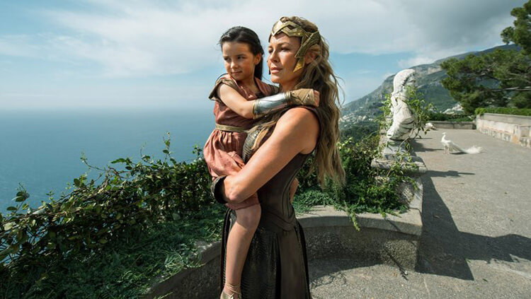Wonder Woman Themyscira Filming Locations Villa Cimbrione, Italy