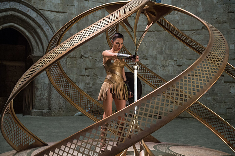 Wonder Woman filming locations Castel del Monte, Italy