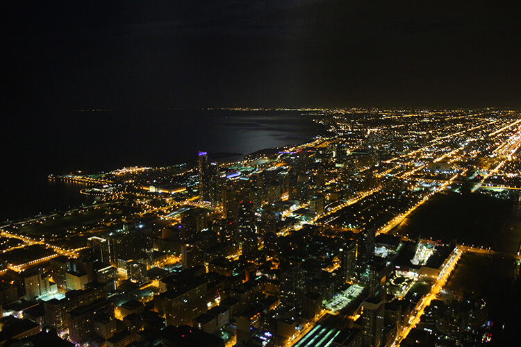 Pie in the Sky VIP dinner at Skydeck Chicago