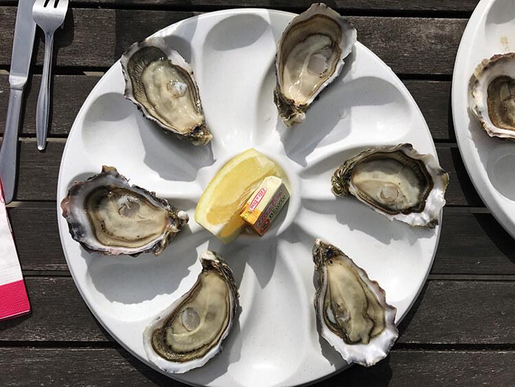 Oysters at Petit Piquay, Lege Cap Ferret, France