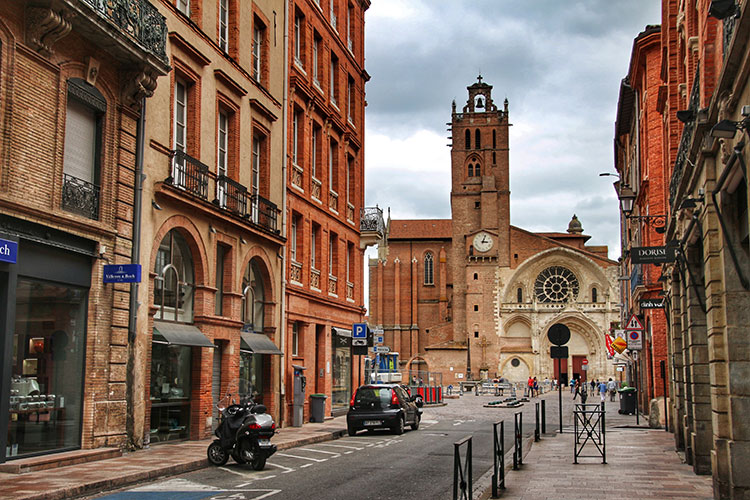 Cathedral Saint-Etienne, Toulouse, France