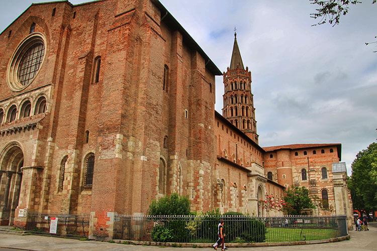 Basilica Saint-Sernin, Toulouse, France