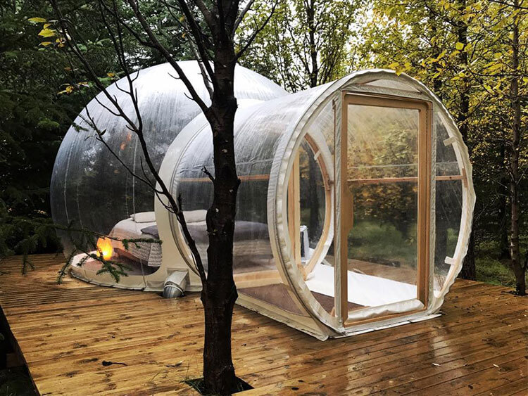Bubble Hotel Iceland & Sleep in a Bubble Hotel on Icelandu0027s Golden Circle - Luxe ...