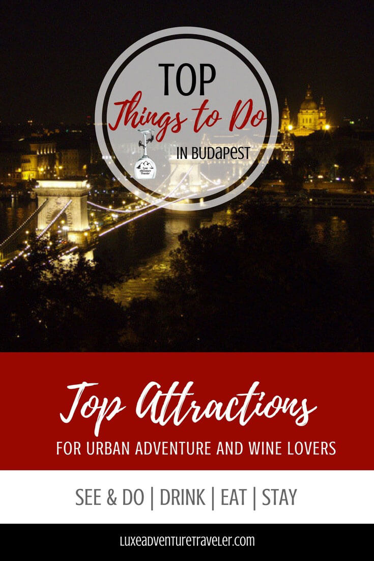 Top Things to Do in Budapest Pinterest Pin