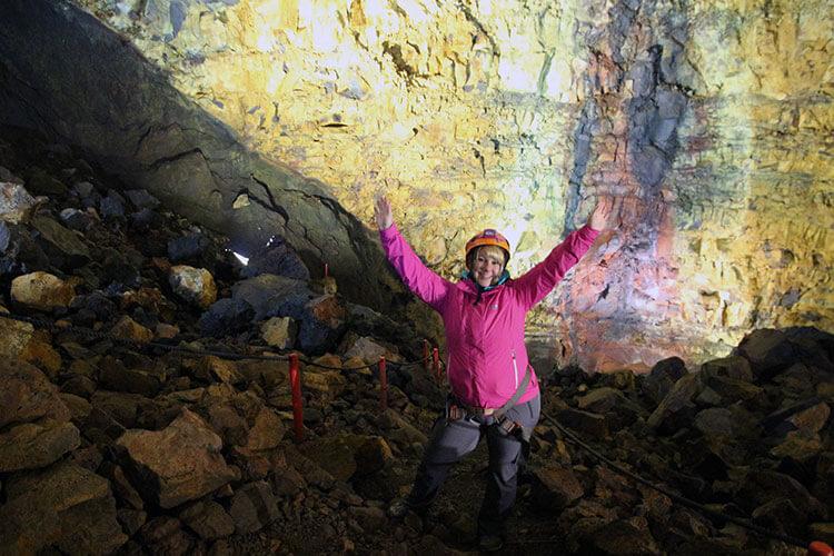 Inside the Volcano Iceland