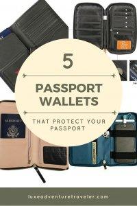 Best Passport Holders Pinterest pin
