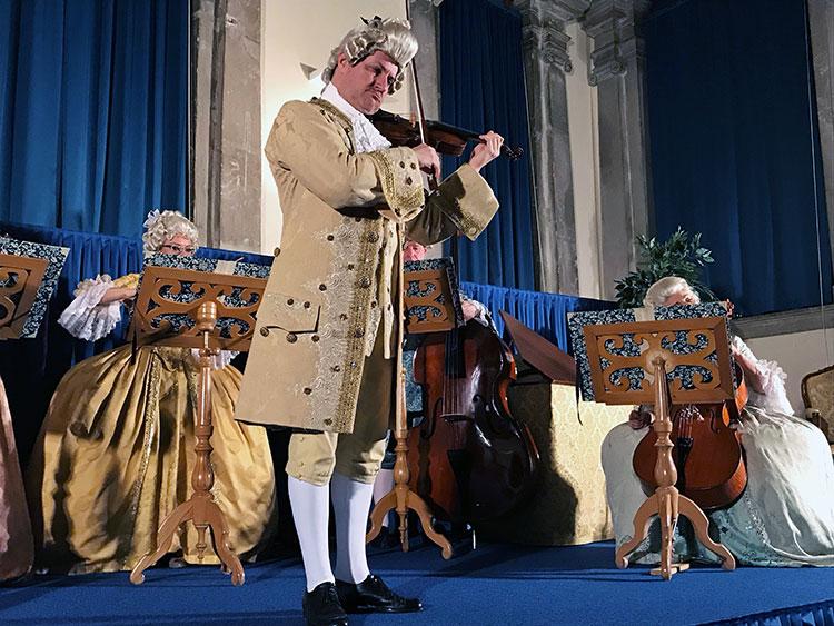 Vivaldi Four Seasons Concert, Venice, Italy