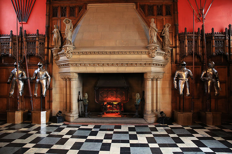 The Great Hall in Edinburgh Castle