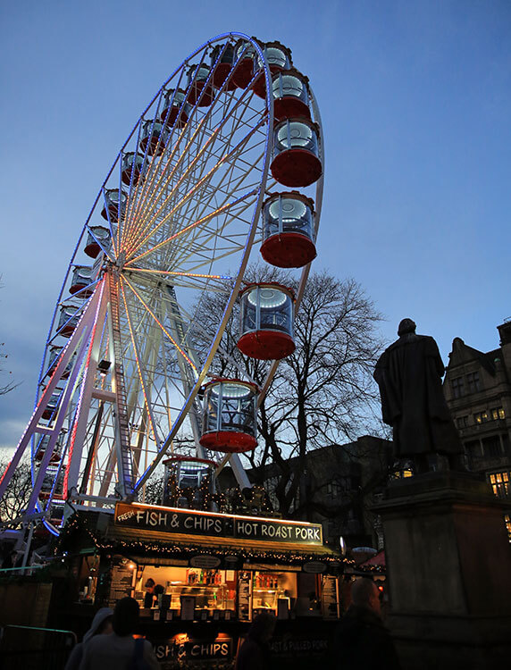 The Forth 1 Big Wheel at Edinburgh's Christmas