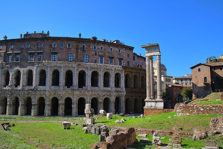 Theater of Marcellus, Rome, Italy