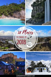 18 Places to Travel in 2018 Pinterest Pin