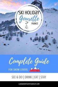 Gourette Ski Holiday Pinterest Pin