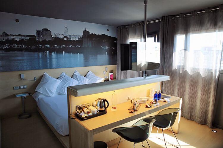 Our junior suite at Barceló Málaga