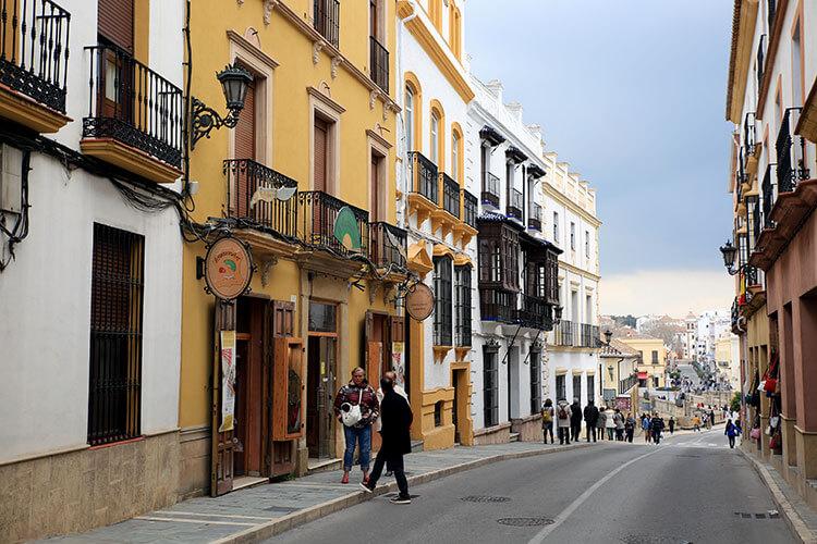 La Ciudad is the old Moorish town